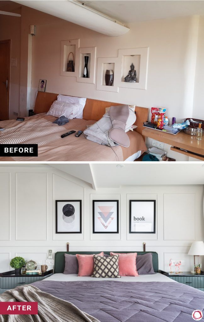 home makeover chic bedroom