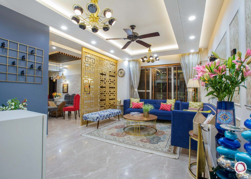 3 bhk flats in noida living foyer dining