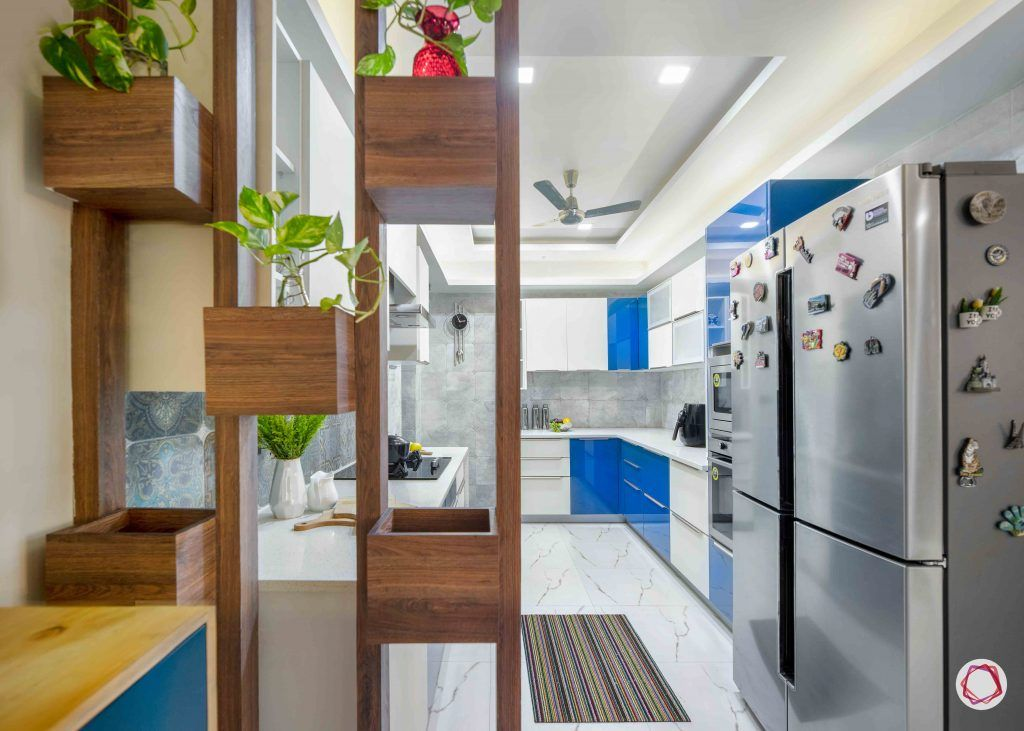 Flats in Delhi_kitchen from outside