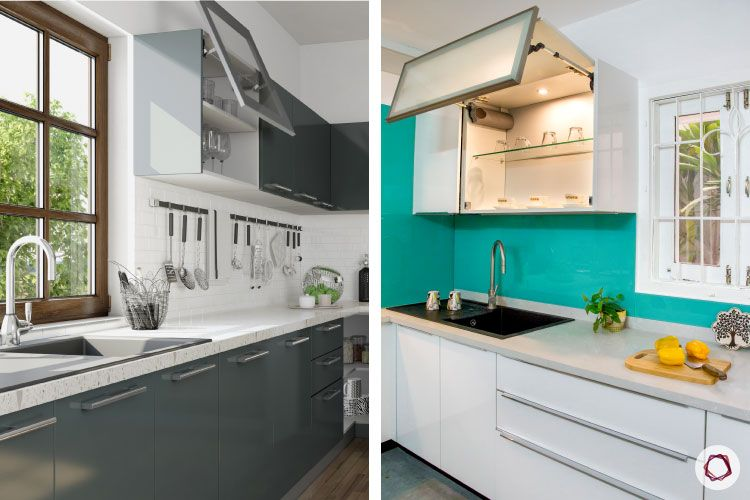 Kitchen cupboards_flap up