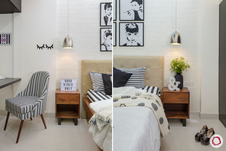 room decor ideas chic wooden tables