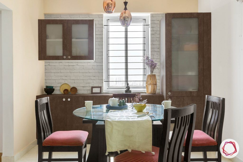 New home design_dining room full view