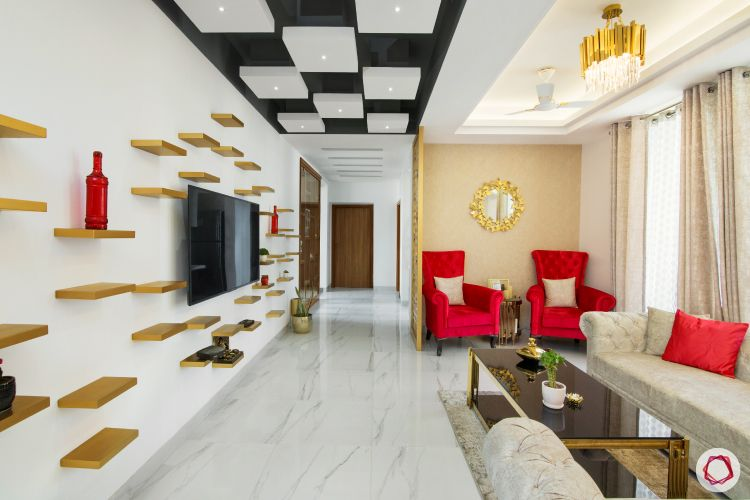 6 Fancy False Ceiling Ideas for Every Room at Home