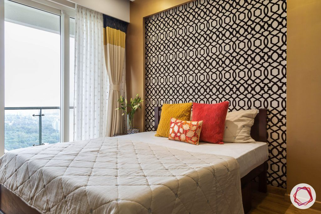 lodha group-bohemian wall panel-colours for bedroom
