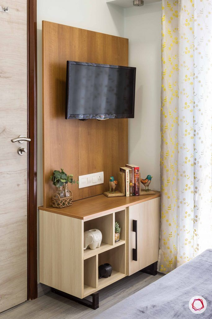 bedroom-wood-TV-unit-compact-cabinet
