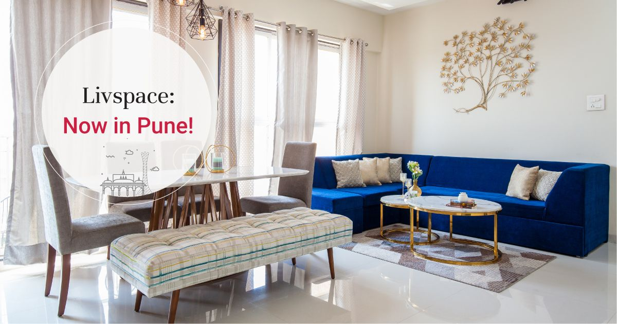 Pune's First #LivspaceHome is Classy on a Budget