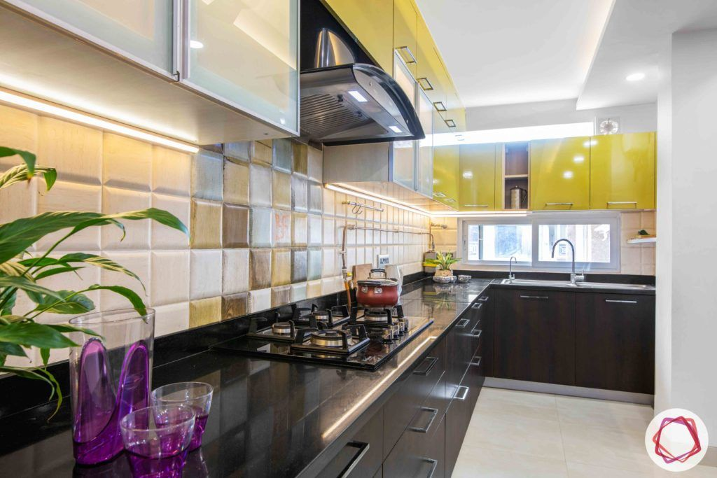 kitchen-before-after-sink-yellow-cabinets-wood-drawers-storage
