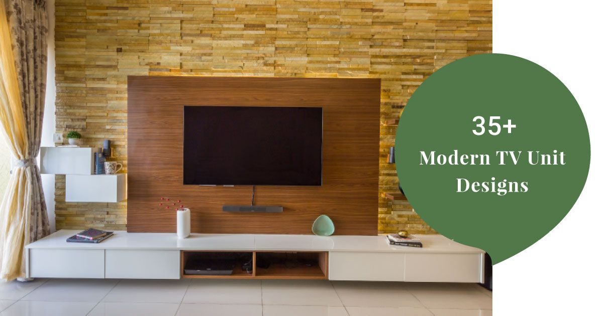 Modern Tv Unit Design High On Style Amp Functionality