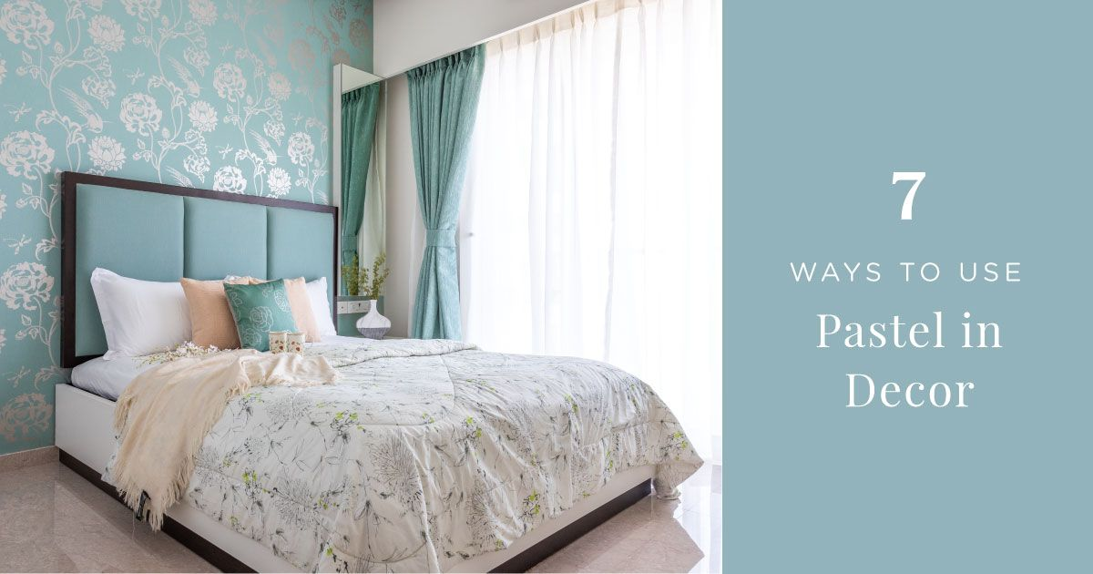 Pleasing Pastel Colors for Home Decor