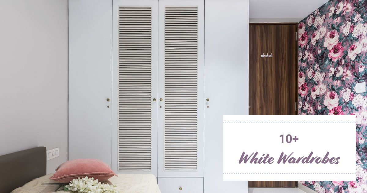 We are Crushing on These White Wardrobes